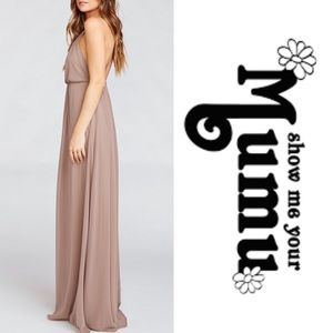 Kendall Dune Maxi Chiffon Dress🌿